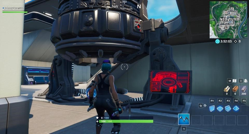 Fortnite' activates a rift beacon that will time warp
